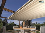 Wooden pergola with sliding cover TECNIC WOOD - PRATIC F.lli ORIOLI