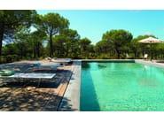 Recliner garden daybed SOMBRA - Andreu World
