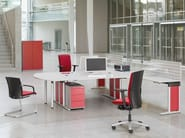 Multiple office workstation METRA | Office workstation - König + Neurath