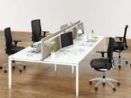 Multiple office workstation DO IT.4 | Office workstation - König + Neurath