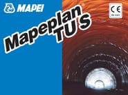 Fabric and liner for tanking MAPEPLAN TU S - MAPEI