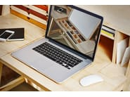 Wooden secretary desk / dressing table SIXtematic BELLE - 2:1 - sixay furniture