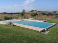 Infinity Hydromassage swimming pool Hydromassage swimming pool - INDALO PISCINE