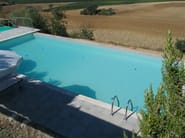 Infinity In-Ground cement swimming pool In-Ground swimming pool - INDALO PISCINE