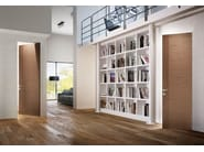 Hinged flush-fitting wooden door LEGGERA | Flush-fitting door - PIVATO
