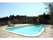 In-Ground swimming pool with waterfall Swimming pool with waterfall - INDALO PISCINE