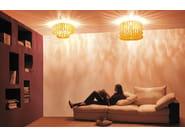 Glass ceiling lamp ECOS PL 60A - Vetreria Vistosi