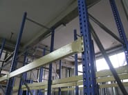 Steel shelveing system High capacity shelving - Castellani.it