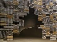 Glass room divider LAMINIS - Fabbian