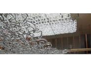 Glass pendant lamp GIOGALI 3D SP - Vetreria Vistosi