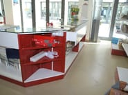 Shop furnishing Counter sales - Castellani.it