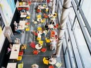 Square contract table CENTRE | Square table - Casala