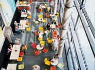 Rectangular contract table CENTRE | Rectangular table - Casala