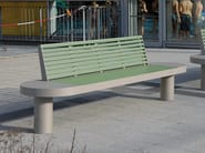 Bench with back COMFONY 90 | Bench - BENKERT BÄNKE