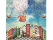 Landscape kids wallpaper ZOOLANDIA - MyCollection.it