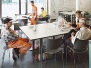 Stackable plastic chair COBRA | Plastic chair - Casala