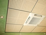 MDF ceiling tiles WOOD SHADE LAY-IN 15 - ITP