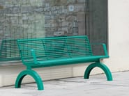 Bench with armrests SIARDO 140R | Bench with armrests - BENKERT BÄNKE