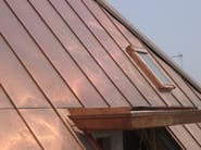 Continuous metal laminate for roof TECU® - Roof - KME Architectural Solutions