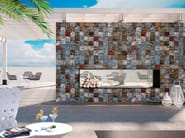 Indoor/outdoor porcelain stoneware wall/floor tiles KREA - DSG Ceramiche