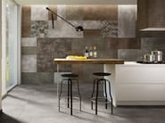 Indoor/outdoor porcelain stoneware wall/floor tiles KREA - DSG Ceramiche