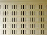 Sound absorbing wooden wall tiles WOOD SHADE ACOUSTIC SHELL - ITP