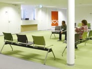 Fabric beam seating FENIKS TRAVERSE | Beam seating - Casala