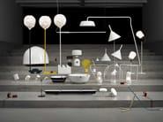Metal table lamp / floor lamp LANTERNA C - VERTIGO BIRD