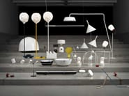 Metal table lamp / floor lamp LANTERNA D - VERTIGO BIRD
