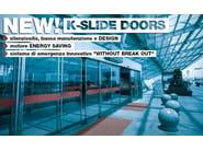Automatic entry door K-SLIDE - Kopron