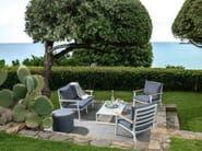 2 seater garden sofa TIMBER | Sofa - Talenti
