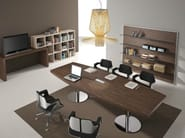 Wooden meeting table TITANO | Wooden meeting table - Castellani.it