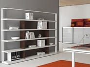 Wooden office shelving ARCHIMEDE | Office shelving - Castellani.it