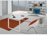L-shaped wooden office desk ARCHIMEDE | L-shaped office desk - Castellani.it