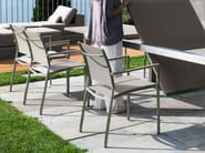 Textilene garden chair with armrests PATCH | Chair - Talenti