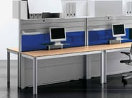 Multiple wooden office workstation ZEFIRO SYS | Multiple office workstation - Castellani.it