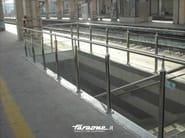 Glass and Stainless Steel balustrade ATENA - FARAONE
