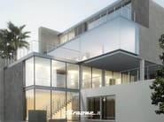 Stainless steel balustrade IRIS - FARAONE