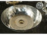 Countertop metal washbasin SILVER 1 - BLEU PROVENCE