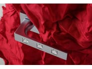 Door handle on rose satin chrome KING   Door handle - Frascio