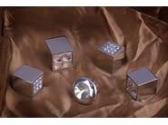 Furniture knob satin chrome SPARKLE SUITE | Furniture knob - Frascio