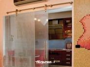 Sliding door track SLIDE INOX - FARAONE