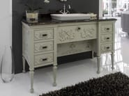 Lacquered vanity unit with drawers ROYAL | Vanity unit - BLEU PROVENCE