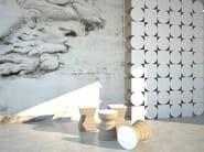 Kraft paper stool CORK - Staygreen