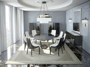 Round wooden dining table PARIS | Dining table - HUGUES CHEVALIER