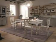 Wooden chair TABIÀ | Chair - Scandola Mobili