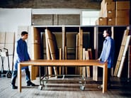 Rectangular solid wood table ALBUM - Zanotta