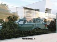 Modular glass Fence NINFA-R - FARAONE