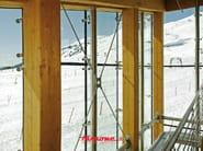 Glass curtain-wall accessories ROTULES - FARAONE