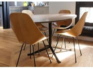 Oval wooden dining table SÉVERIN | Table - Alex de Rouvray design